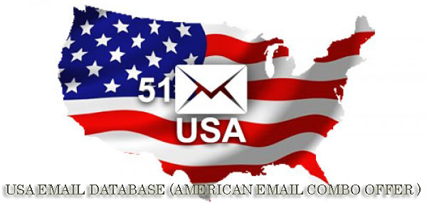 USA EMAIL DATABASE (AMERICAN EMAIL COMBO OFFER )